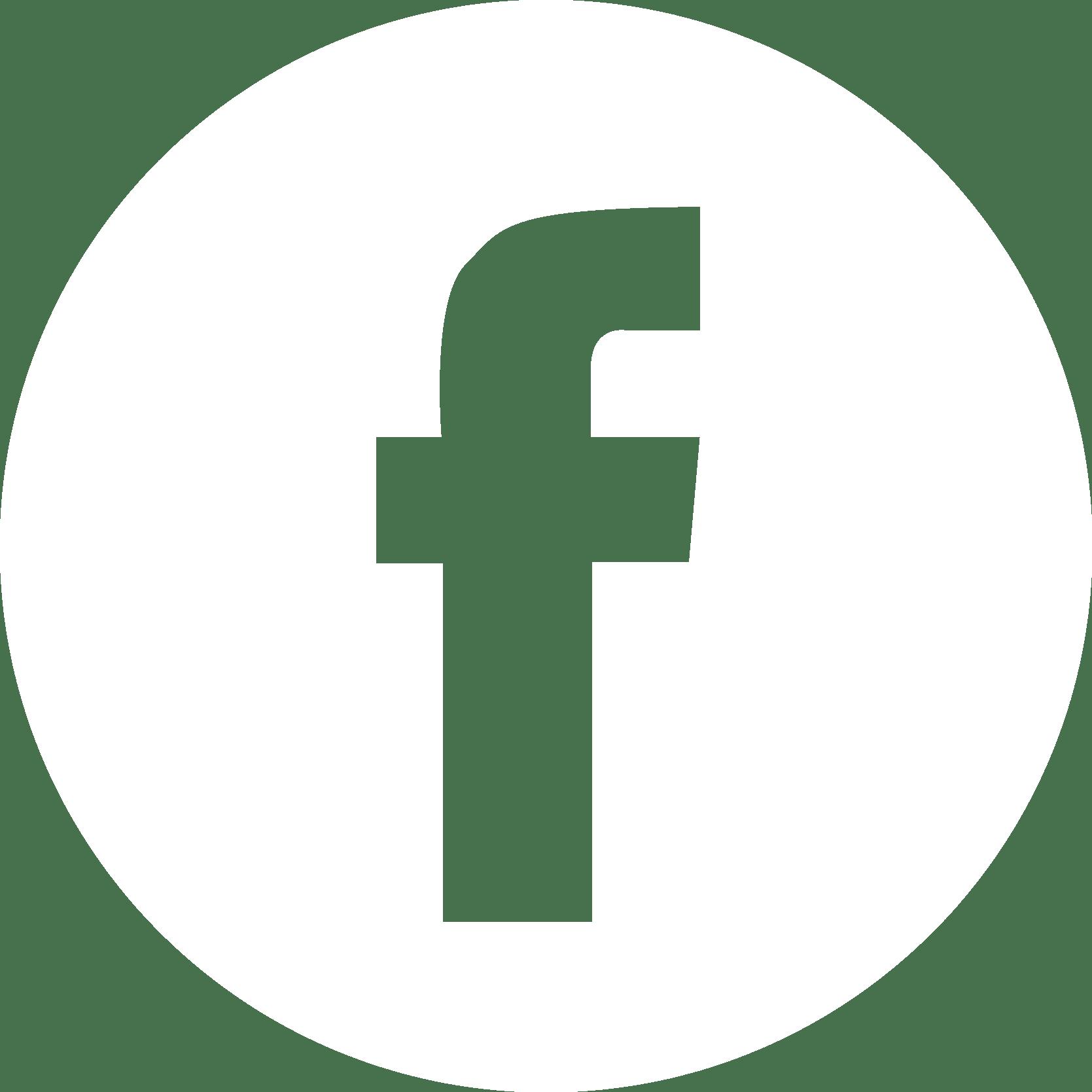 logo facebook blanc